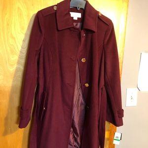 Michael Kors women size large coat brand new.